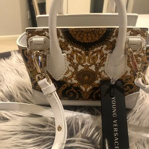 Young Versace bag NWT